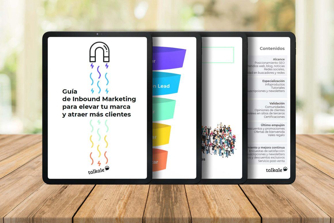 Guía de Inbound Marketing de Talkale gratis