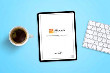 Talkale Planificación diagnóstico de Comunicación y Marketing Digital de Grupo Innovaris
