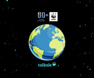 Talkale Hora del planeta WWF social