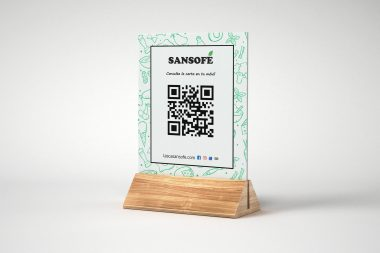 QR la carta en tu móvil Sansofé