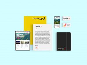 Canargy creación de marca y desarrollo de identidad digital