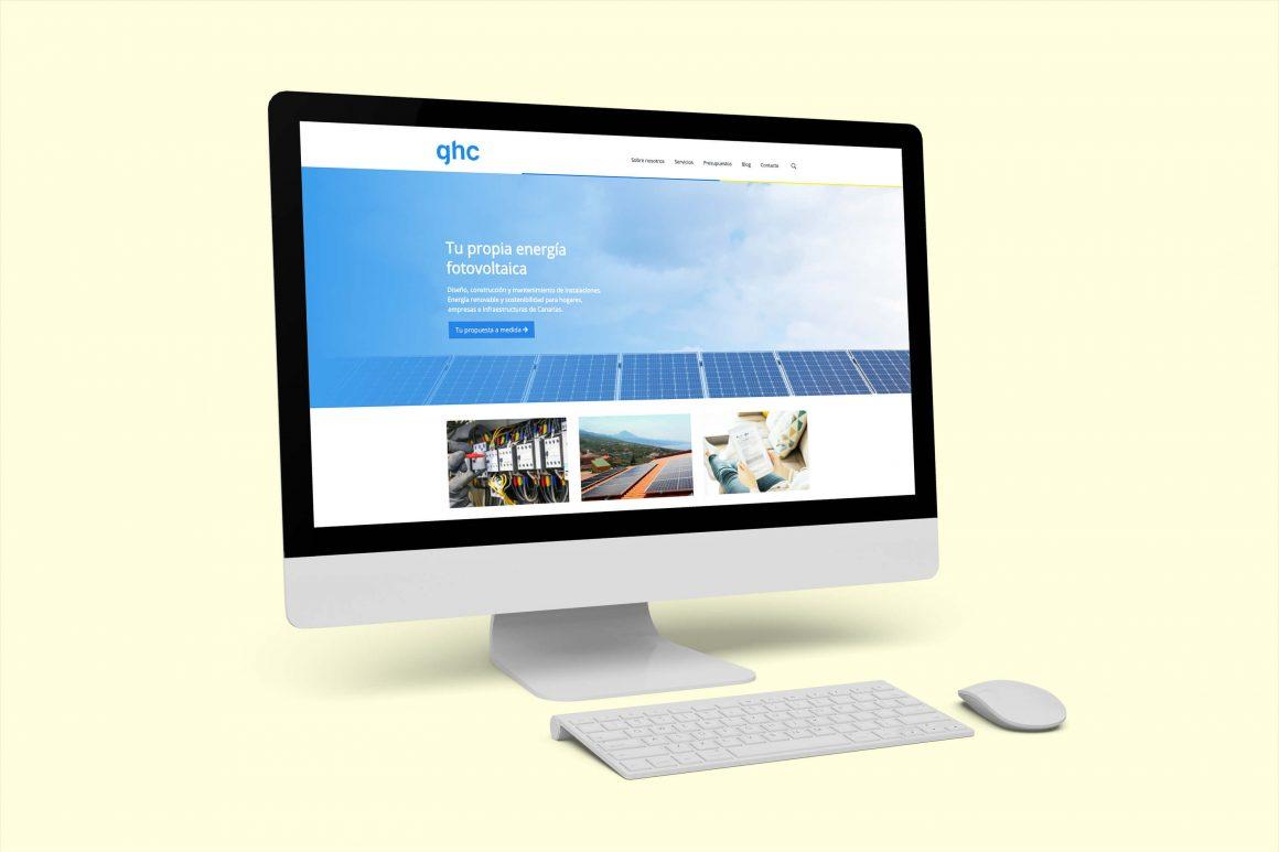 GHC Instalaciones desarrollo de canales de Marketing Digital