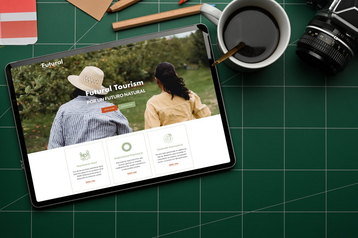 Futural Tourism identidad digital por Talkale